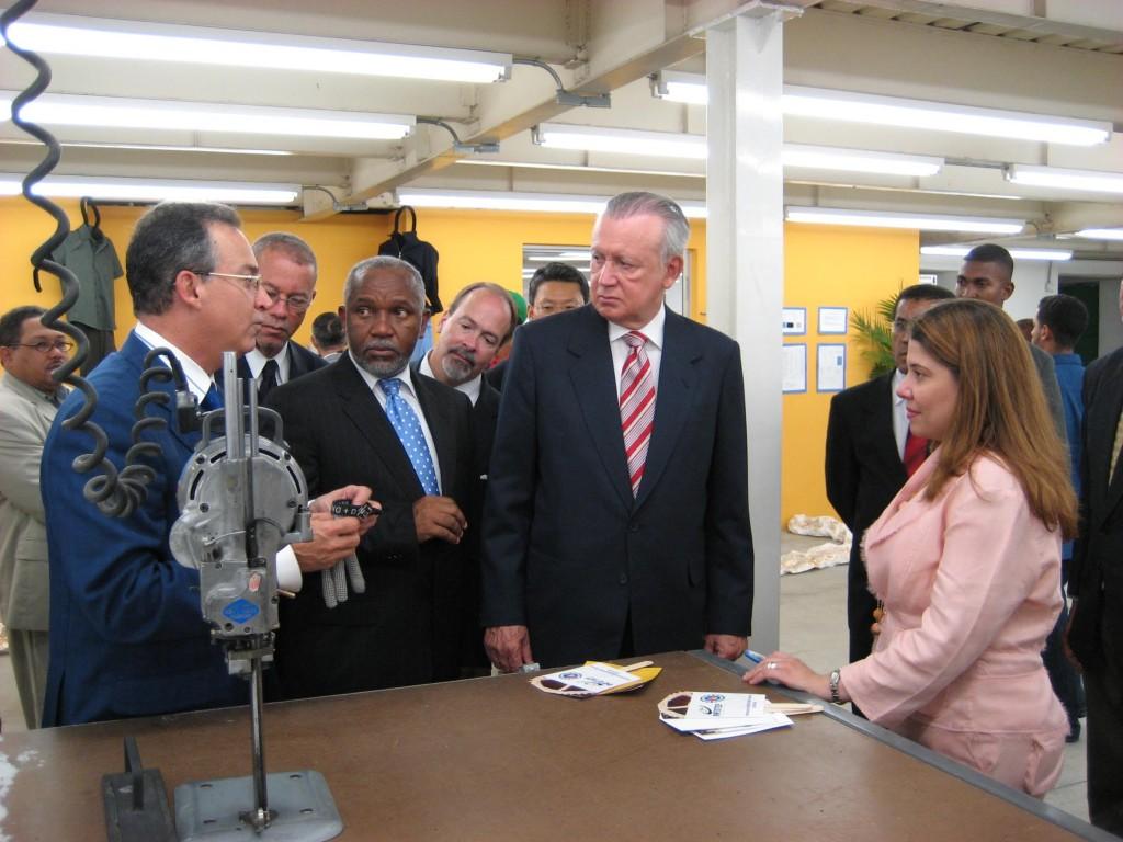 Santiago Training Center - Vice Presidential Tour