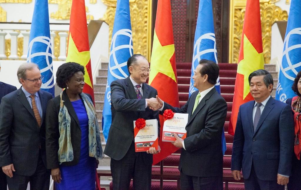 World Bank Vietnam 2035 Report Delivered.  Photo: Chau Doan--World Bank Group